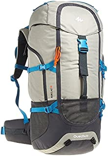Hiking Camping Water Repellent Backpack Rucksack Forclaz 50L
