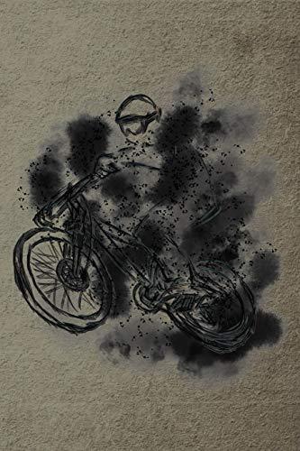 Notizbuch: Cross Rennrad - Crossbike Crossrad Cyclocrossrad Mountainbike — Notizbuch oder Tagebuch für Rennradfahrer, Biker, Radler und Fahrrad Fans - Notizheft Klatte für Männer, Frauen und Kinder