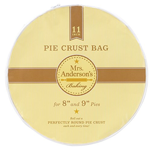 Mrs. Anderson's Baking Harold Import Co Crust Maker Bag, 11', Clear