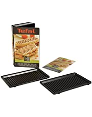 Tefal XA8003 Snack Collection 3 Non-Stick Grill/Panini Plattor, Svart