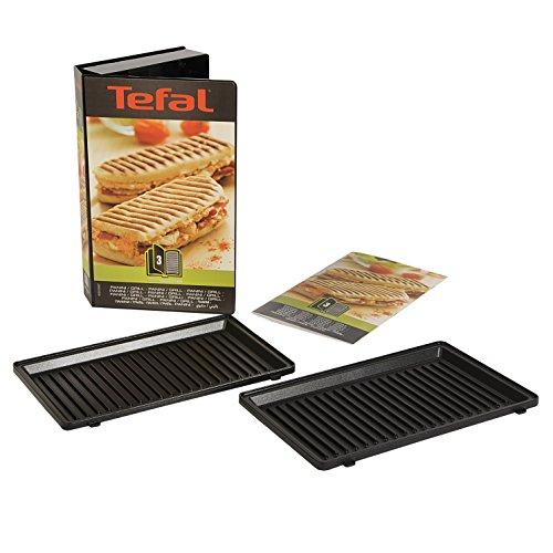Tefal XA8003 Snack Collection Platte Grill/Panini, Nummer 3, Maße der Platten: 226 x 132 mm