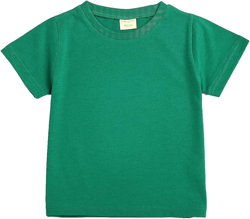 LIELIESTAR Baby Boys Short Sleeve Tee Shirts 2-7 Years