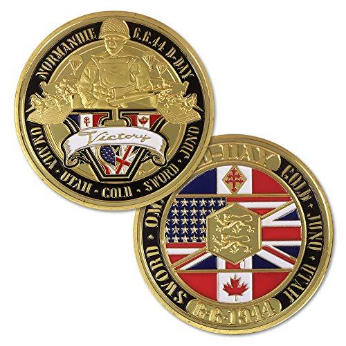 U.S. Army Challenge Coin World War II Soldier Veteran Coin Gift
