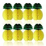 SUNBEAUTY Ananas Decoration Jaune Papier Summer Ananas Party Deco Suspendu Maison...