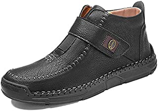 jingshu Chaussures pour Hommes New Martin Boots Version coréenne Casual Chaussures Grand Taille pour Hommes Chaussures pou...