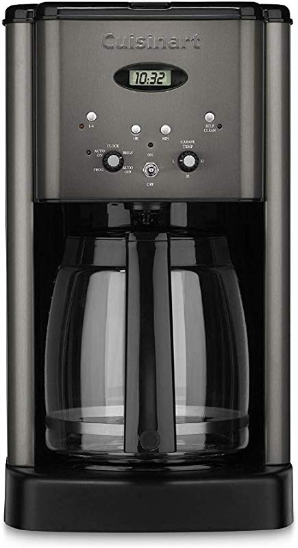Cuisinart DCC 1200BKS Brew Central 12 Cup Coffee Maker Black Stainless Renewed