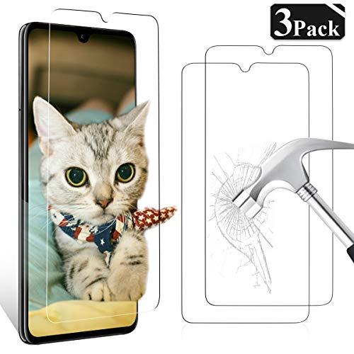 YIEASY [3 Stück] Panzerglas Schutzfolie für Huawei Mate 20, Anti-Kratzer Anti-Öl Bildschirmschutzfolie Schutzfolien Einfache Installation Blasenfrei 3D Touch Kompatibel 9H Festigkeit - für Huawei Mate 20