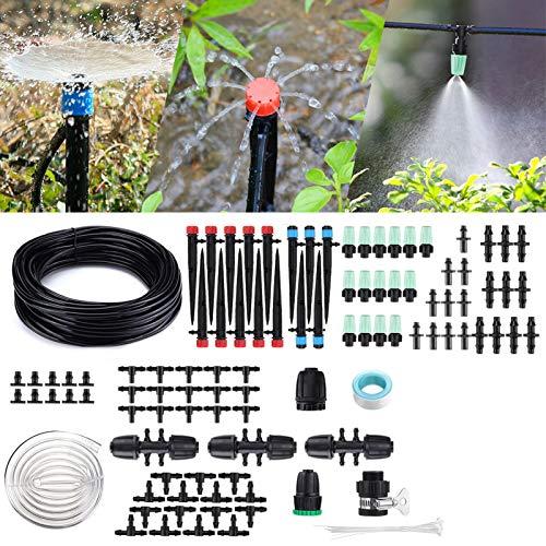 Micro Drip Irrigation Kit,king do way 42m/138ft Garden Irrigation System...