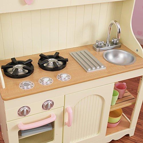 KidKraft 53151 Prairie Prärie-Spielküche aus Holz in Weiß Landhaus Kinderküche - 8
