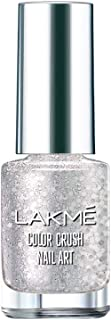 Lakme Color Crush Nail Art F2, Silver, 6 ml