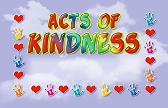 North Star Resources Acts of Kindness Incentive Punch Cards Pack of 36