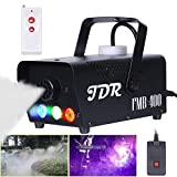 JDR Fog Machine with Controllable lights, Disinfection LED Smoke...