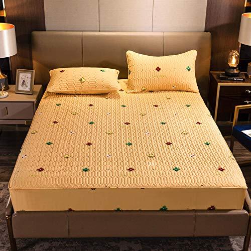 CYYyang Protector de colchón de bambú Funda de colchón y...