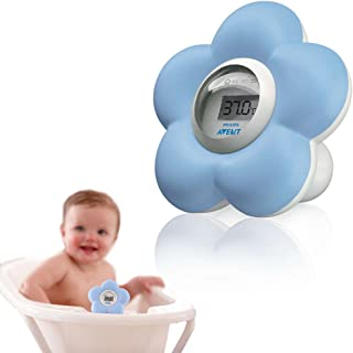 Philips Avent Digital Bath & Room Thermometer, Blue, SCH550/20