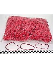 Progom - Gomas Elasticas - 110(ø70)mm x 3mm - rojo - bolsa de 1k
