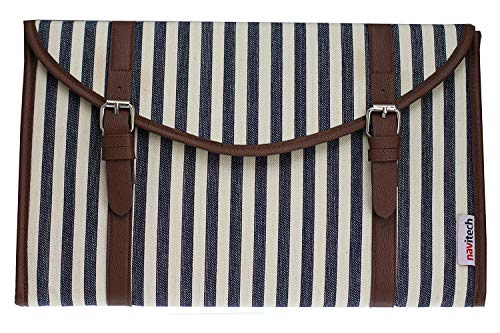 """Navitech Canvas Fabric Style Laptop Sleeve Bag Case Cover Compatible with The ASUS TUF Gaming FX 505DY 15.6"""""""
