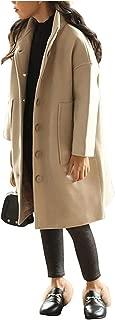 Surprise S Autumn Winter Girls Woolen Coat Long Coat for Girls Jacket Girls Clothing Thick Warm Coat