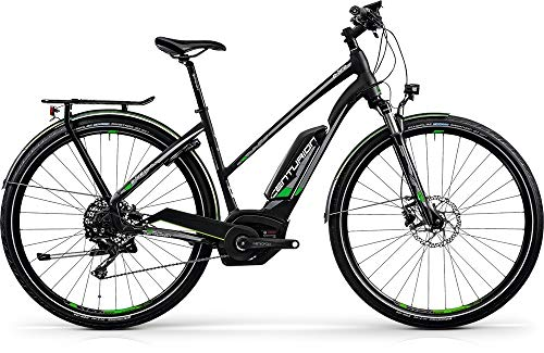 CENTURION E-Fire Tour R2500 Damen E-Bike 500Wh E-Trekking schwarz matt RH 48 cm / 28 Zoll
