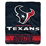 The Northwest Company NFL Houston Texans Stabilize Raschel Throw Blanket, 50' x 60'