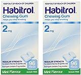 Habitrol Nicotine Gum 2 Boxes 2mg Mint 192 Pieces by Habitrol