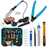 Best Soldering Irons - Soldering Iron, Soldering Iron Kit with Solder, 60W Review
