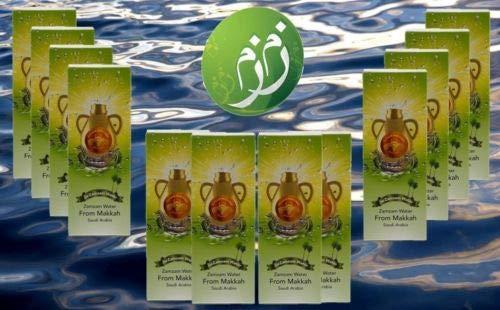 Zamzam Drinking Water 16.5 fl.oz. Pack of 12 - From Mecca Saudi Arabia -      12