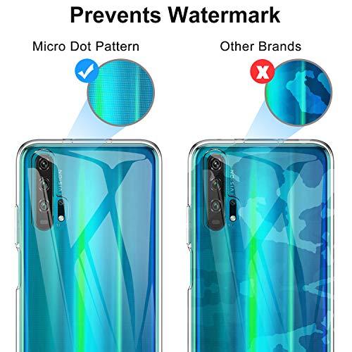 iBetter für Honor 20 Pro Hülle, Soft TPU Ultradünn Cover [Slim-Fit] [Anti-Scratch] [Shock Absorption] passt für Honor 20 Pro Smartphone - 6