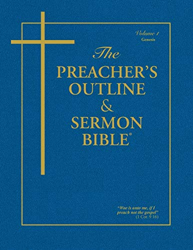 Compare Textbook Prices for The Preacher's Outline & Sermon Bible: Genesis Volume 1 Preacher's Outline & Sermon Bible-KJV 1 Edition ISBN 9781574070156 by Worldwide, Leadership Ministries
