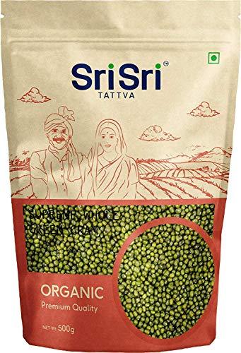 Sri Sri Tattva Green Gram Organic, 500g (Pack of 4)