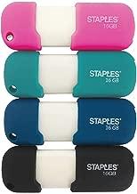 Staples 2832748 16Gb USB 2.0 Flash Drives 4/Pack (52552)