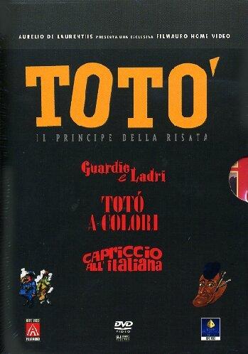 Totò - Il principe della risata - Guardie e ladri + Totò a colori + Capriccio all'italiana