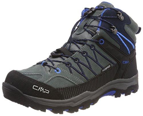 CMP Unisex Rigel Mid Wp Trekking-& Wanderstiefel , Grau (Grey-Zaffiro 52ak) , 38 EU
