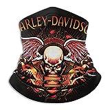 Harley Davidson Nahtlose winddichte staubdichte Bandana-Halsmanschette