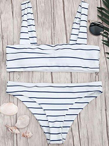 Guozi Bikini bikini, tweedelig, stijl vest, meerkleurig, robuust