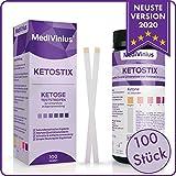 EINFÜHRUNGSANGEBOT 100 Ketostix - Ketose Teststreifen zur einfachen Anwendung. Test