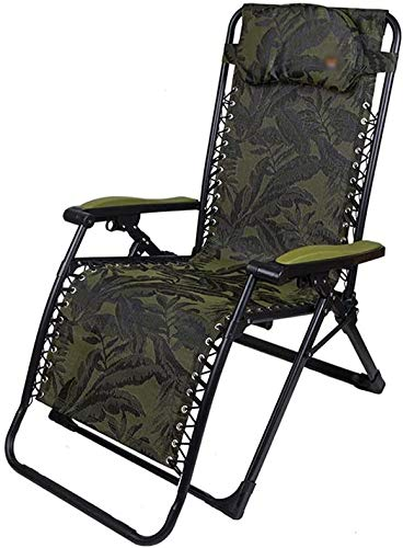 zzx Tumbona Plegable Sillas Plegables - Plegado extensión sillón reclinable Oficina de...