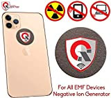 QUANTHOR 360 Round EMF Protection Tesla Technology: EMF Absorption from Cell Phone, WiFi, Laptop-All EMF Devices|Negative ION Generator| International Awards|Anti Radiation Shield, EMR Blocker Device