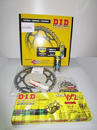 DID - Kit de transmisión con cadena, corona y piñón para Yamaha XT R-X-Z Ténéré 660 04-15