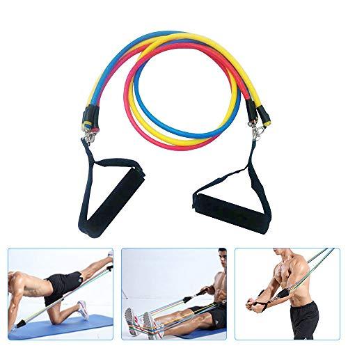 Bandas de resistencia para ejercicios, yoga, entrenamiento corporal, elásticos, resistentes, para fitness