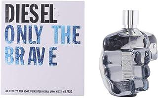 Diesel Only The Brave Eau De Toilette Spray for Men, 6.7 Ounce
