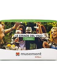 Idea Regalo - Musement Giftbox - LE STRADE DEL VINO (Classic) - Cofanetto regalo
