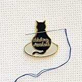 Black Stitching Assistant Black Cat on...
