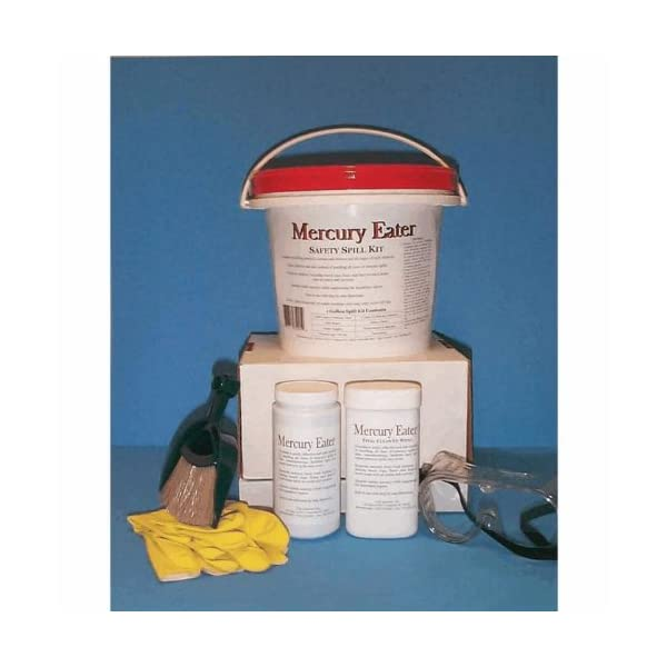 Clift Industries 3901-001 Mercury Eater Safety Spill Kit; 1 Gal; 1 Pack/Case