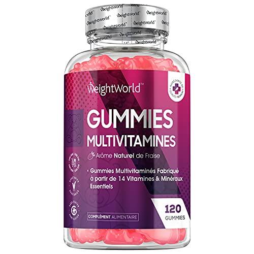 Gummies Multivitamines et Minéraux -120 Gummies...