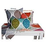 beties Momente XL Tischläufer ca. 40×220 cm in interessanter Größenauswahl hochwertig & angenehm 100% Baumwolle Farbe Hortensie - 6