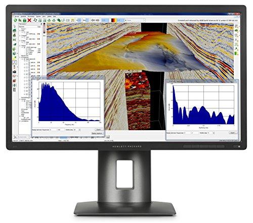 Hp Z24S Monitor 23.8', Retroilluminazione a LED, Nero