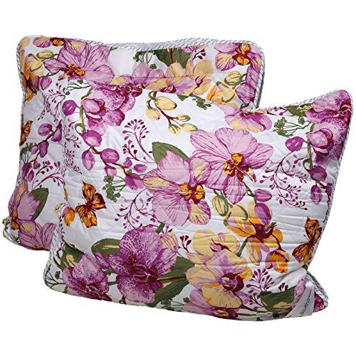 Stoffhanse Kissen 80 x 80 cm, 2er Set floral   Bettwaren   Kopf-Kissen   nach Öko-Tex Standard