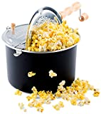 Franklin's Original Whirley Pop Stovetop Popcorn Machine Popper. Delicious & Healthy Movie Theater...