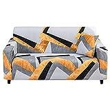 MKQB Funda de sofá Minimalista Moderna para el hogar, decoración del hogar, Sala de Estar, combinación de Esquina en Forma de L, Funda de sofá elástica elástica NO.5 S (90-140cm