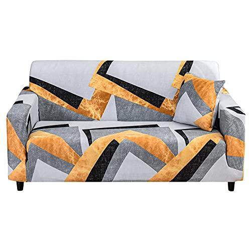 MKQB Funda de sofá Minimalista Moderna para el hogar, decoración del hogar, Sala de Estar, combinación de Esquina en Forma de L, Funda de sofá elástica elástica NO.5 L (190-230cm)